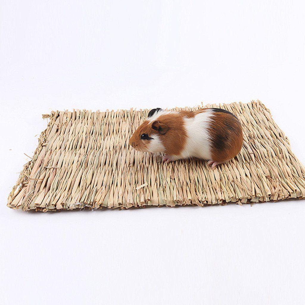 Blingdeals 3Pcs Natural Seagrass Mat Handmade Woven Mat