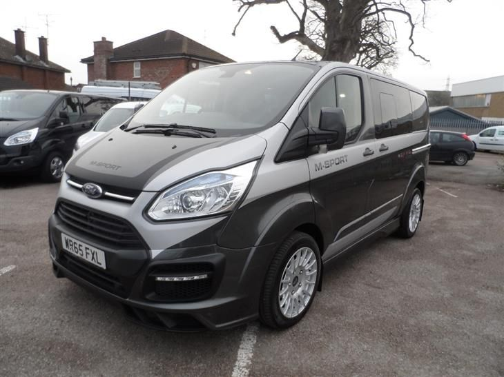 Used 2016 Ford Transit Custom 290 L1 M Sport Double Cab Van 2 2 Tdci 155ps In Magnetic Grey With Full Si Transit Custom Ford Transit Custom Camper Ford Transit