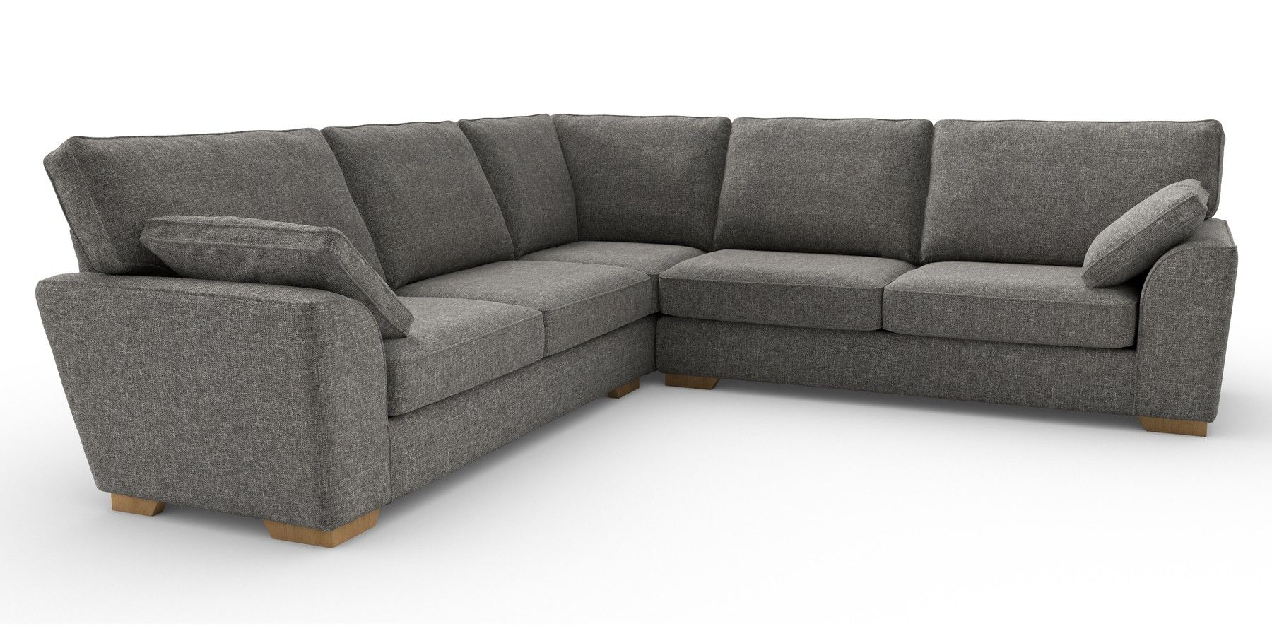 Stamford Tailored Comfort With Images Corner Sofa Grey Corner Sofa Corner Sofa Uk