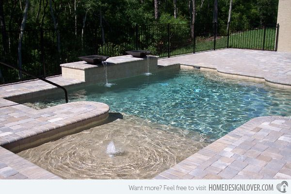 20 Geometric Pool Designs With Corners And Sleek Lines