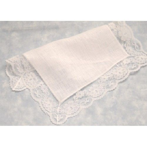 Irish Lace Handkerchiefs Linen Cathedral Handkerchief