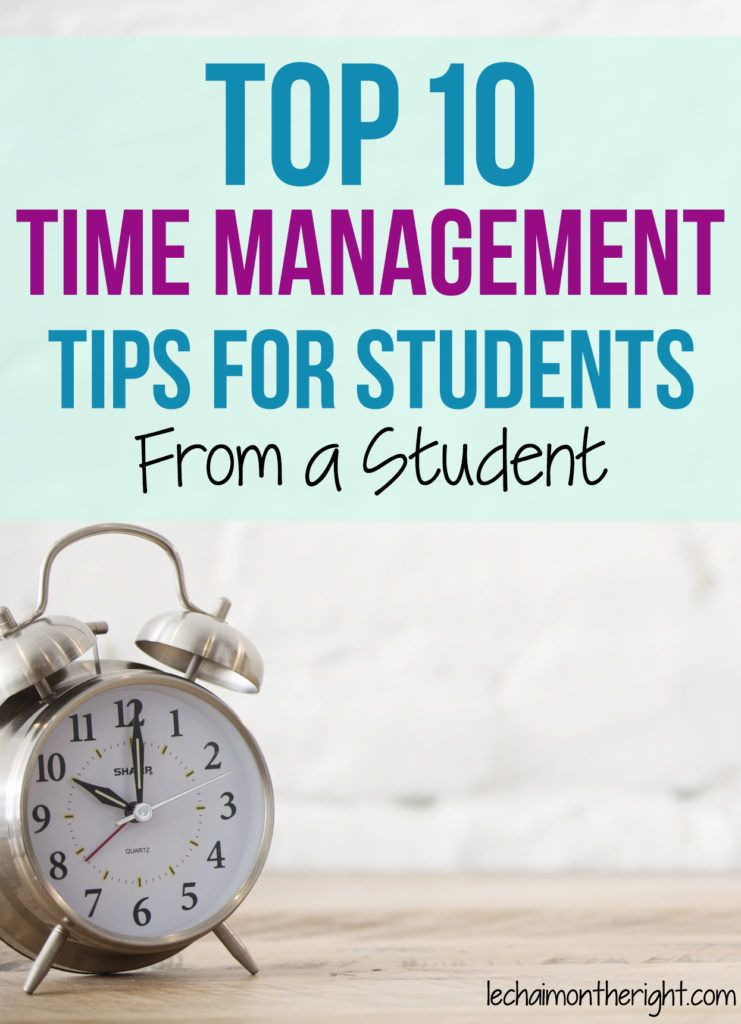 Top 10 Productivity Tips for Students Time management