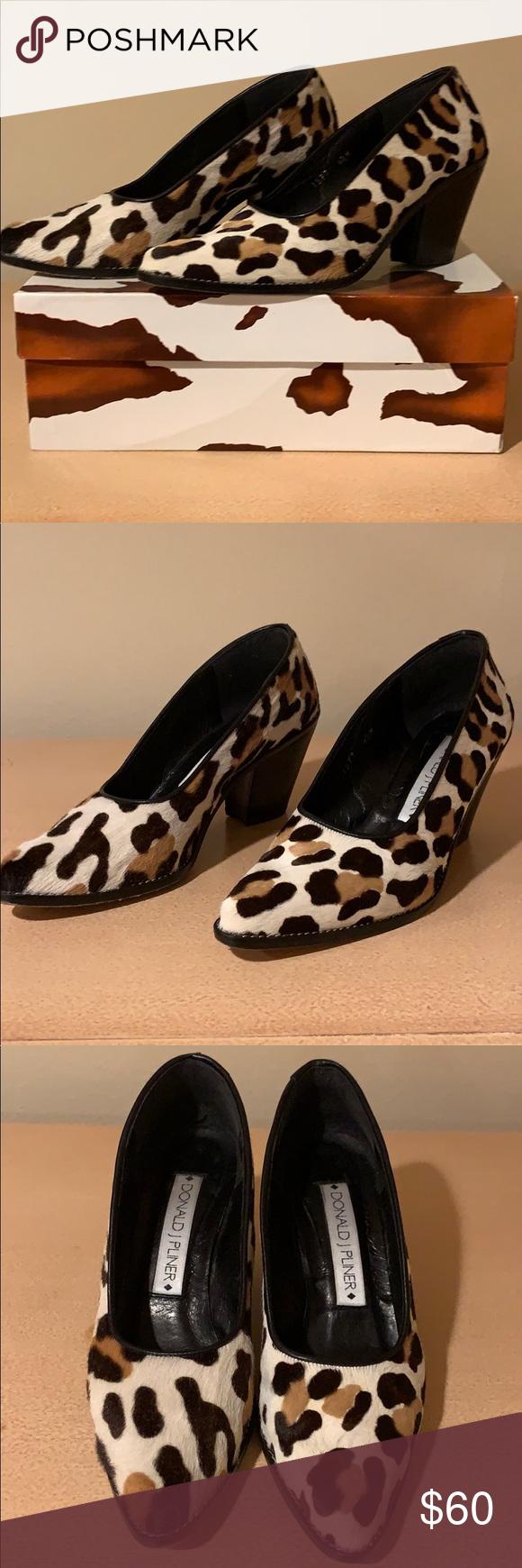 Donald J Pliner Leopard Print Shoes in