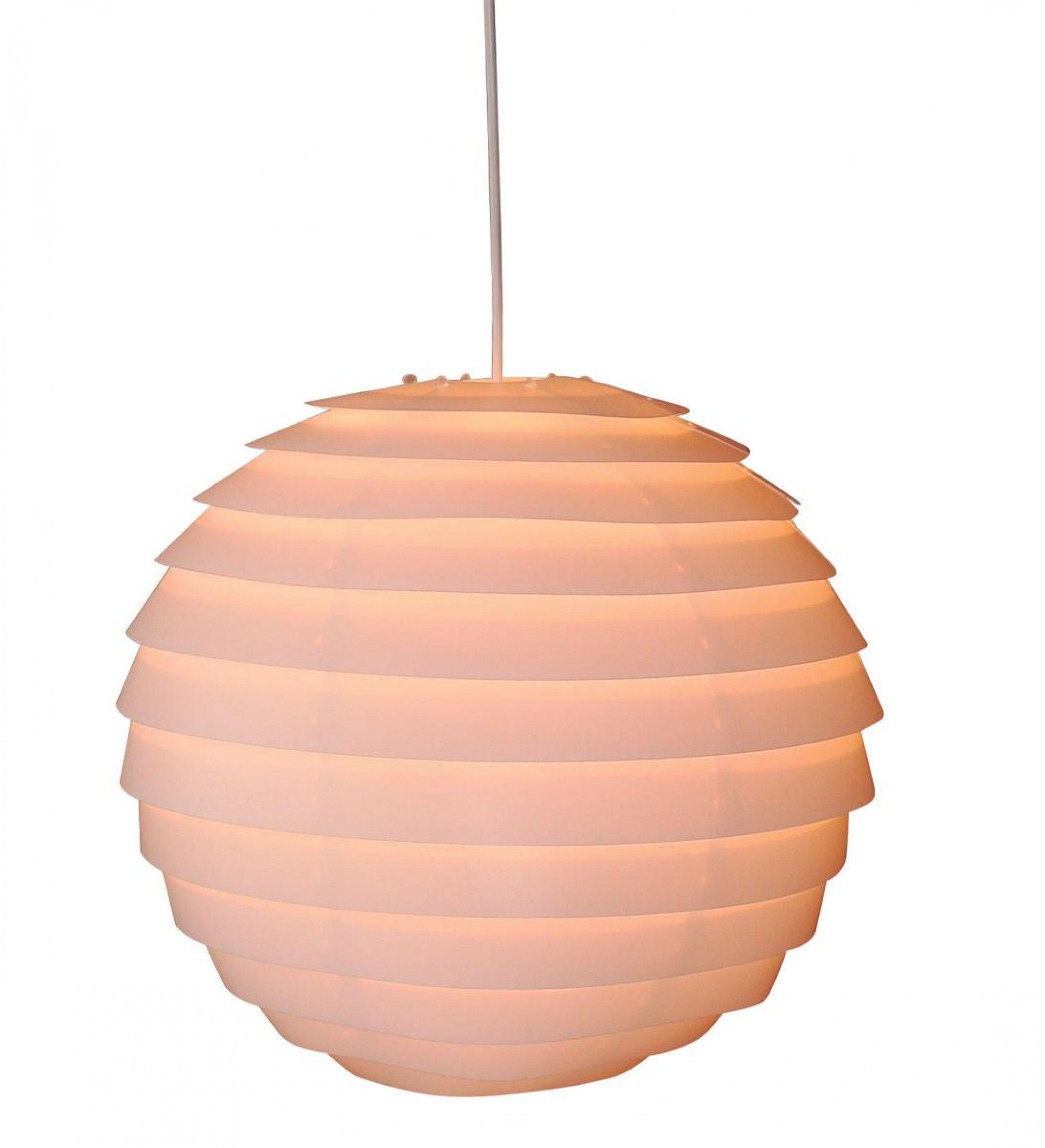 Pendelleuchte Rund Kunststoff Weiss Lampen Online Poco