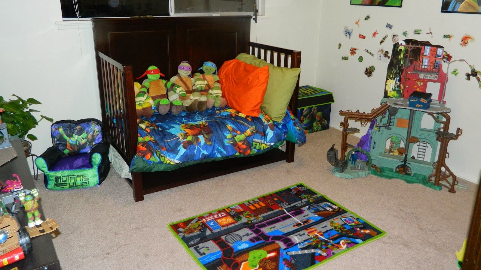 Memoirs From The Belly How We Turned My Son S Room Into An Epic Tmnt