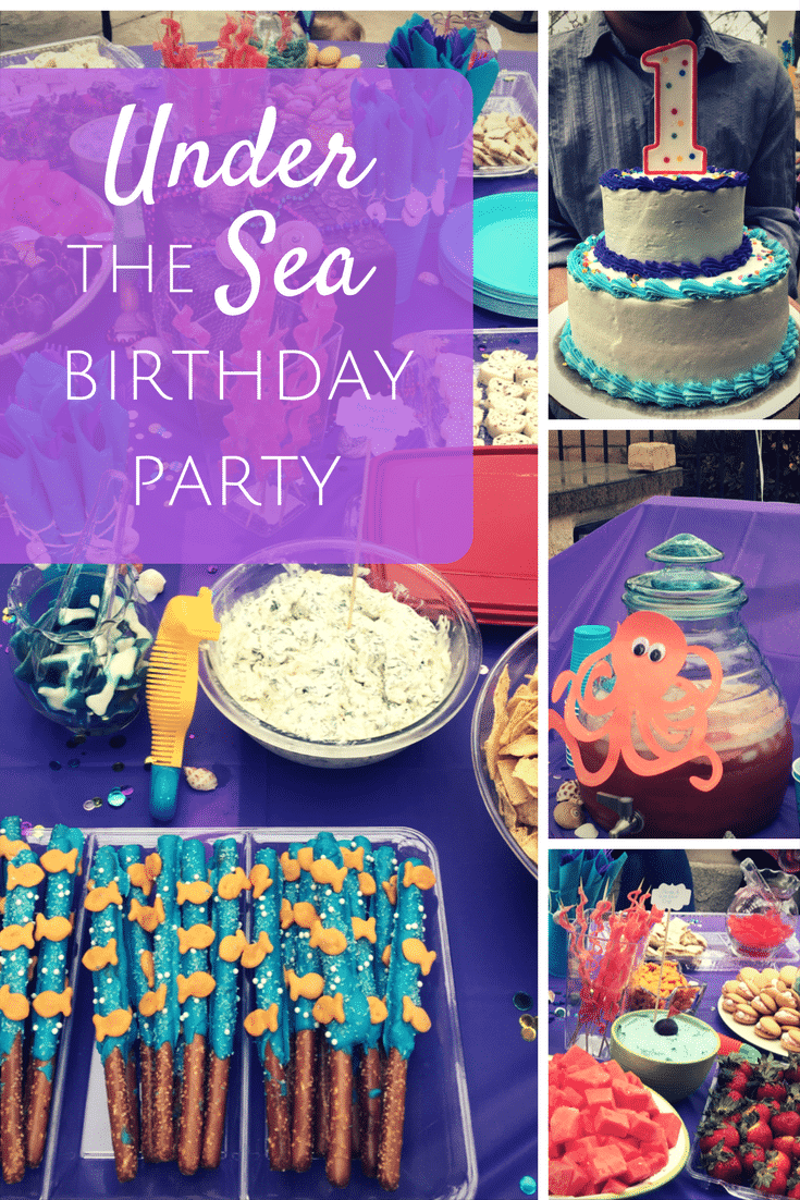 Be Inspired Cute Under The Sea Birthday Party Adult Party