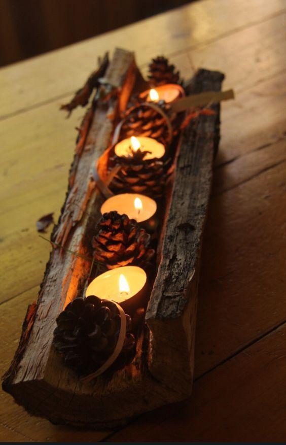 15 Wunderbare Dekorationsstücke Aus Holz Die Ihr Haus Aufblühen Lassen!    DIY Bastelideen