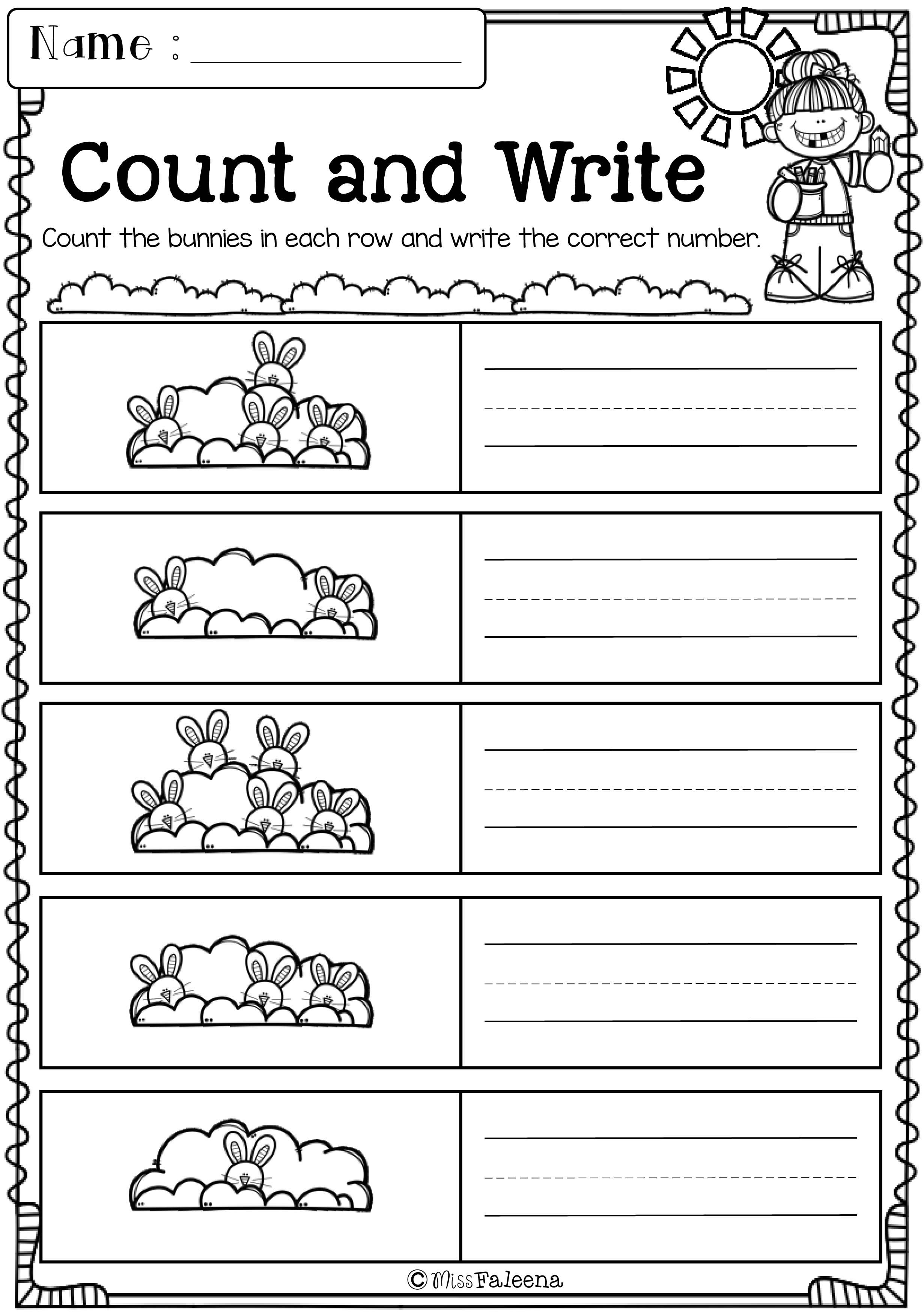 Pin By Eman Khalid On 5 Preschool Worksheets Spring Activities Number Worksheets [ 1650 x 1276 Pixel ]