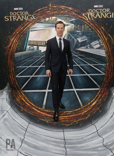 London. Premiere Doctor Strange