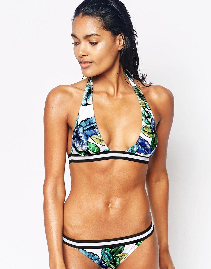 River Island Alabama Bikini With Tipping