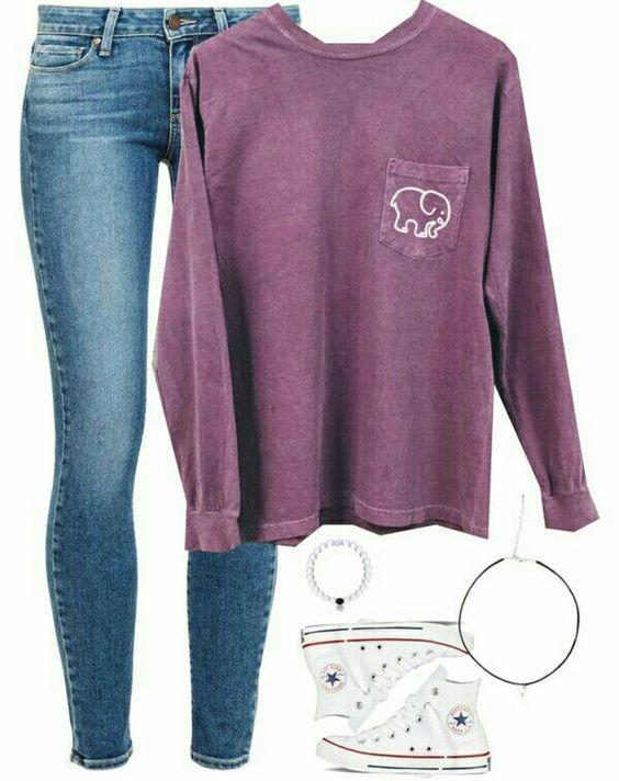how to wear a bralette to school