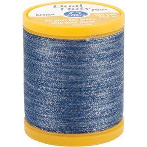 #3: Dual Duty Denim Thread For Jeans 125 Yds: Denim Blue