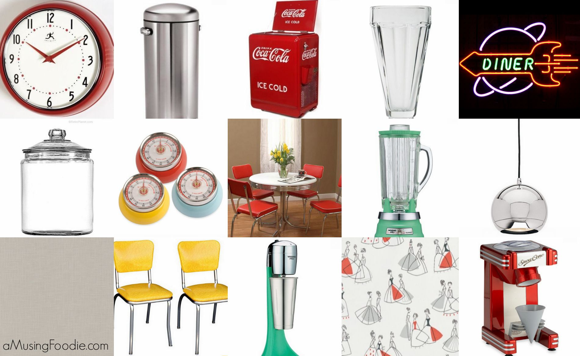 20 Ideas For A 50s Diner Kitchen With
