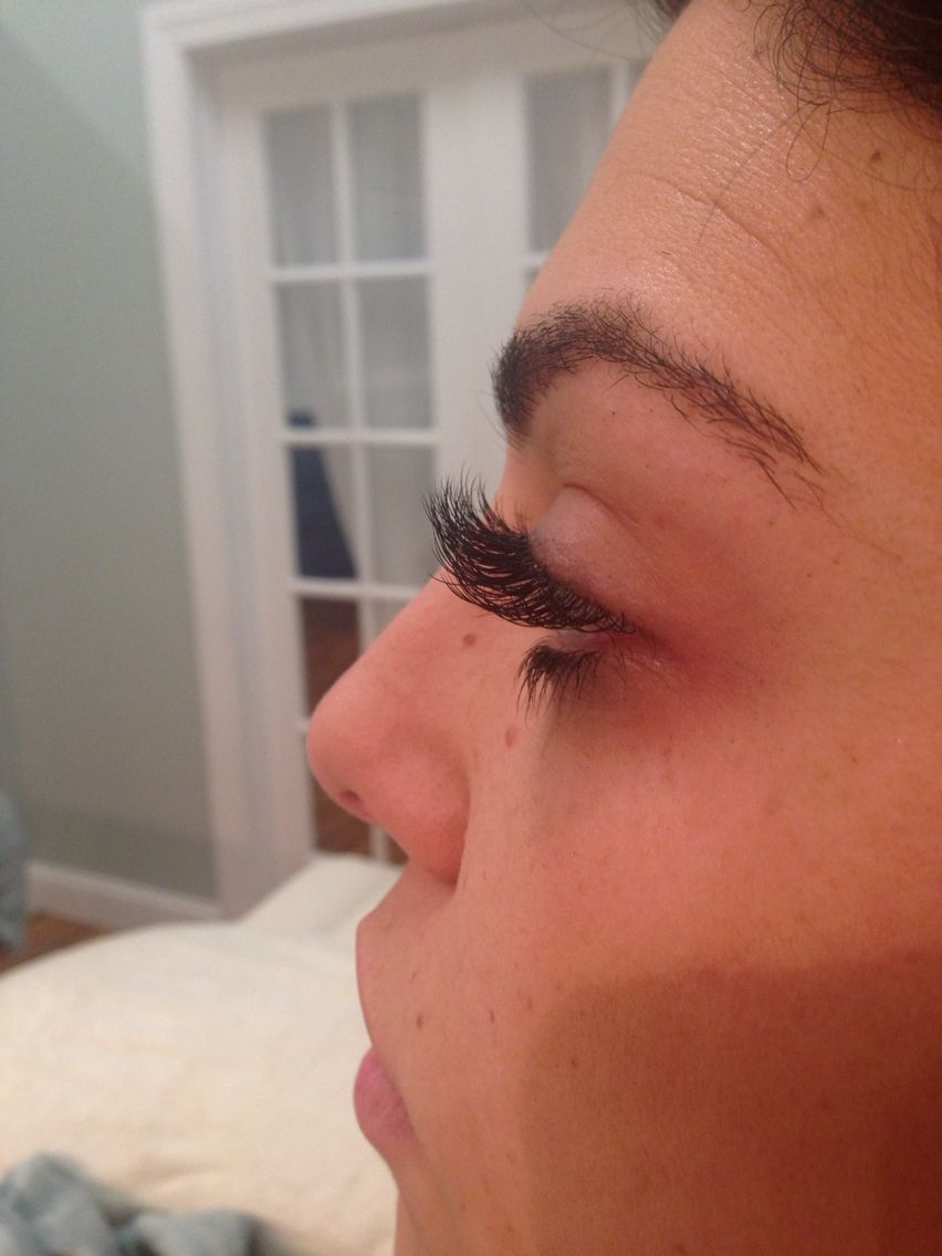 Lash extensions by Jenn at beauty paRLR in framingham ma ...