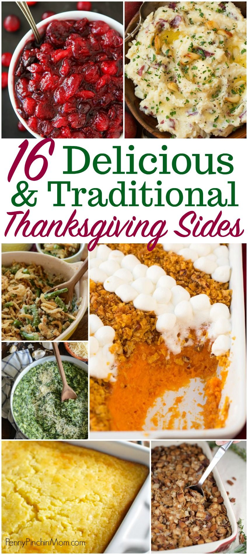 16 Delicious \u0026 Traditional Thanksgiving Side Dishes