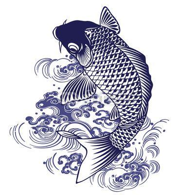Koi おしゃれまとめの人気アイデア Pinterest Sergej Borisov 日本画 鯉の絵 魚イラスト