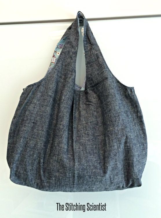 Reversible hobo bag patterns for beginners that is easy to follow ...