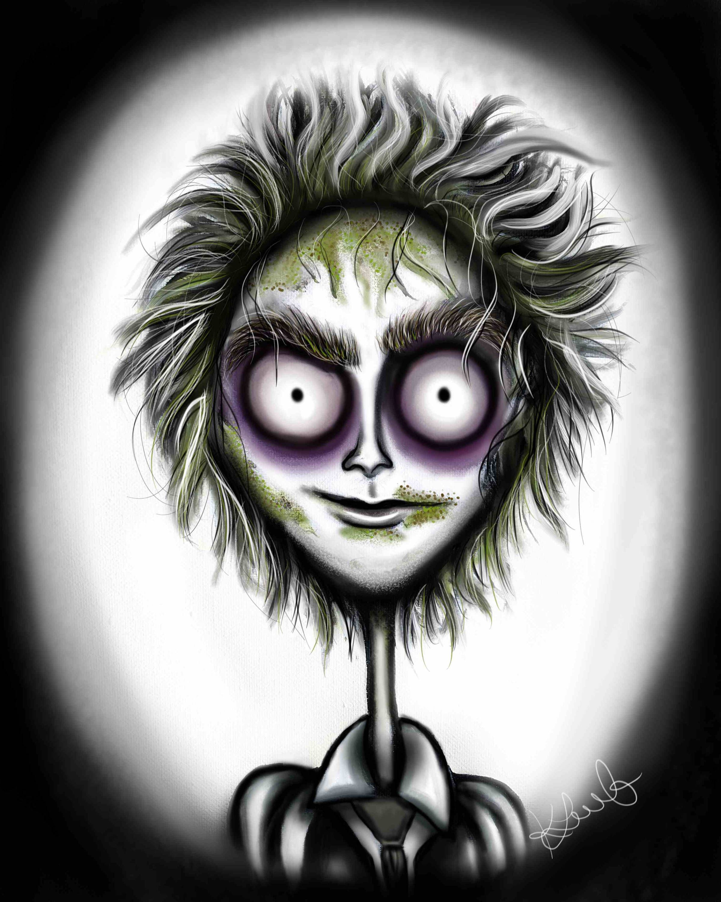 Beetlejuice Tim Burton Print 8x10 Wall Art Digital Etsy Tim Burton Art Style Tim Burton Drawings Tim Burton Art