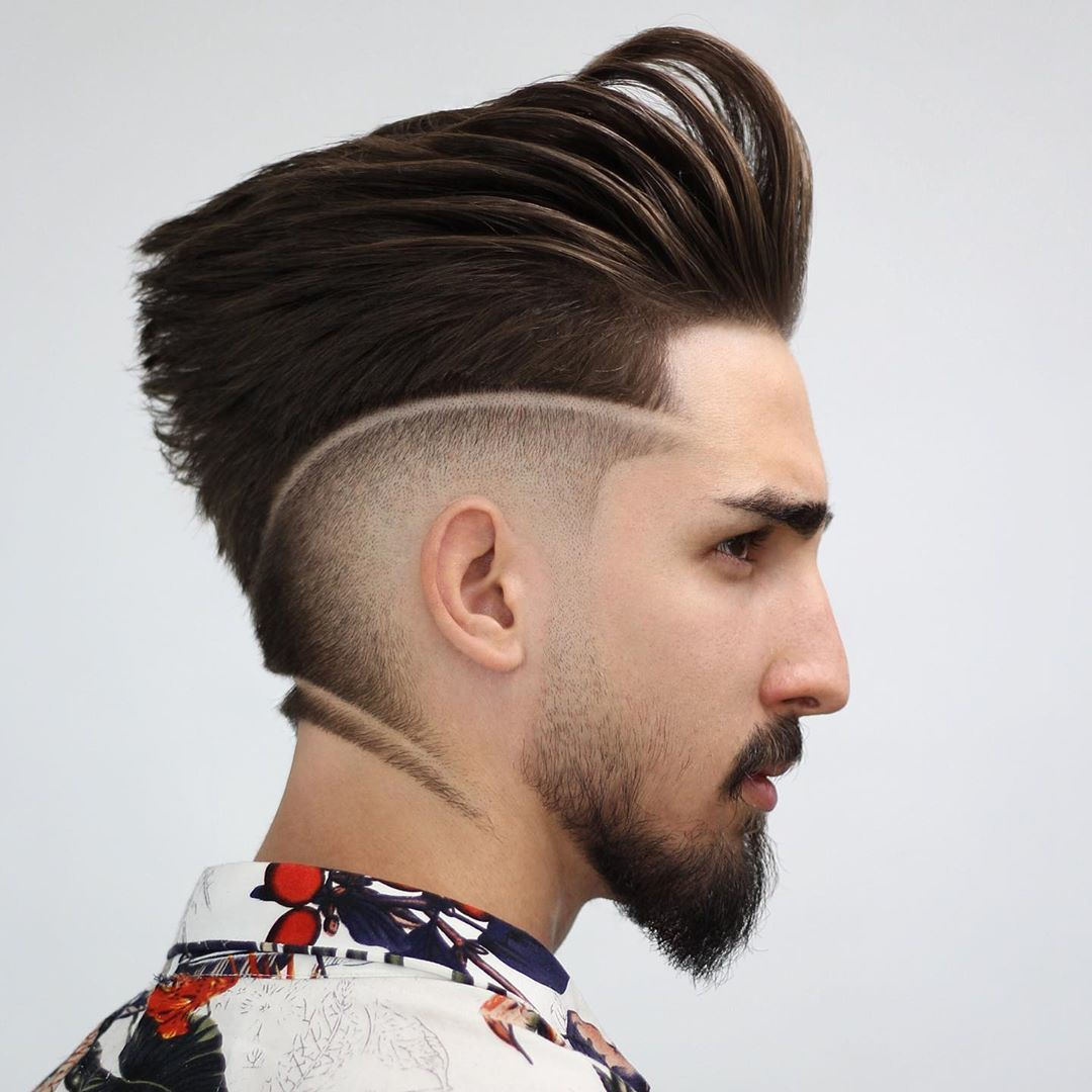 60 Most Creative Haircut Designs With Lines Stylish Haircut Designs Lines For Men Creative Designs Ha Haircut Designs Stylish Haircuts Hard Part Haircut