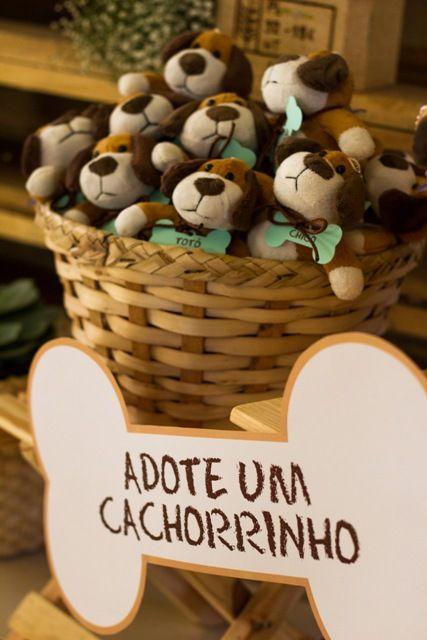 c03f460c391298 Festa infantil tema Cachorrinhos | festa skie | Festa de cachorro ...