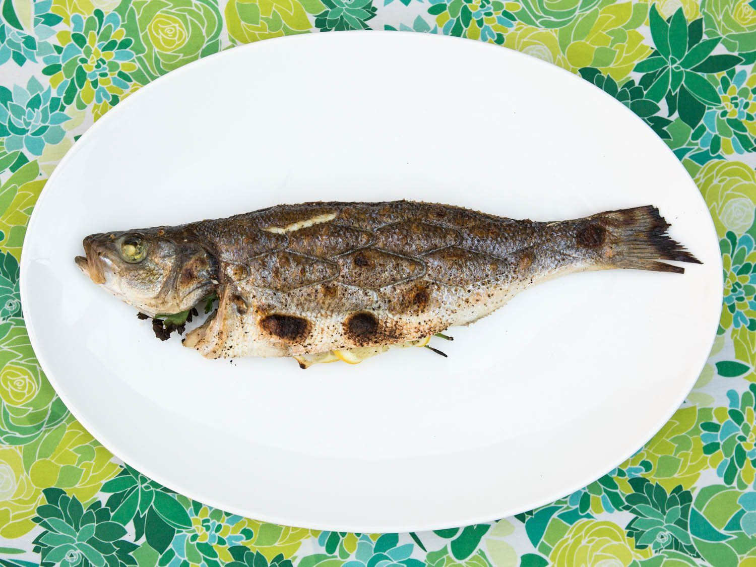 How to carve and serve whole cooked fish fish serious