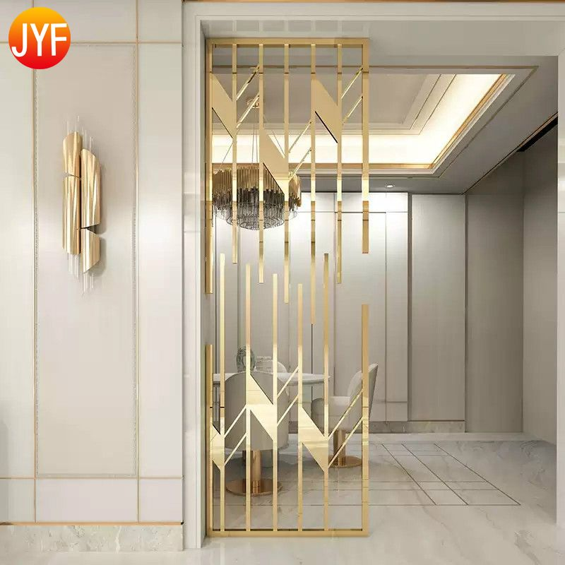 Carve Stainless Steel Metal Home Partition Furnitu