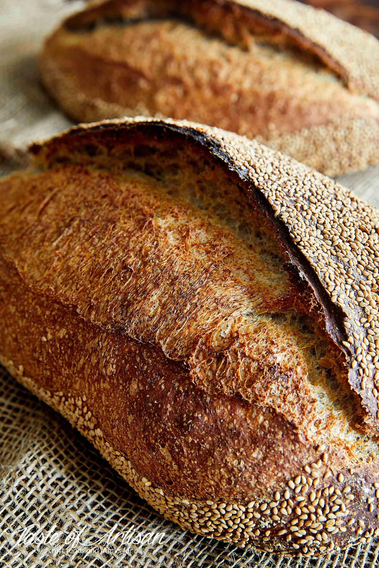 Basic Artisan Sourdough Bread Recipe | Taste of Artisan ...