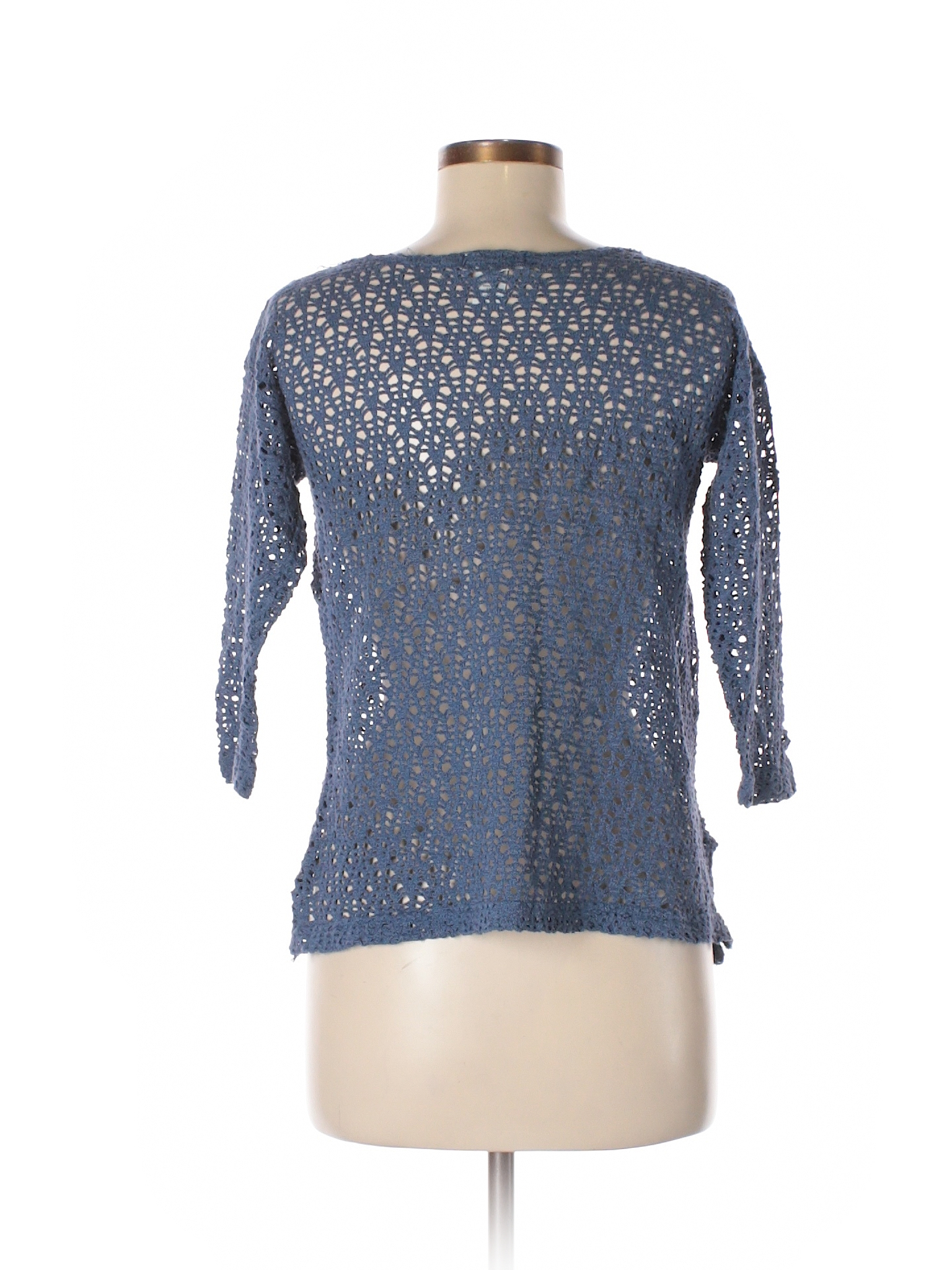 d944c7c8a3 Express Tricot Pullover Sweater  Size 4.00 Blue Women s Tops -  8.99