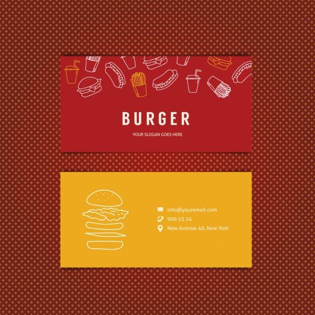 Pin Von Buckinjo Auf Icon Burger Restaurant Free Business