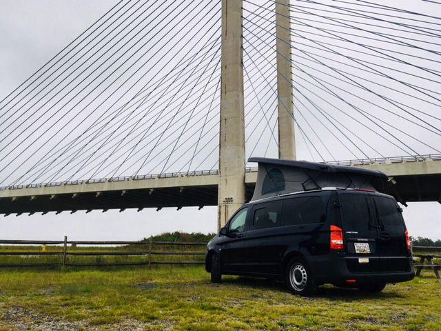 ad8177d3ea Mercedes Metris cargo van converted into a camper van by Keystone Coach  Works in Eugene