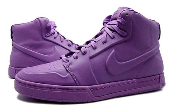 new arrivals fb2c8 010a2 Violet high top Nike Air Royal Mid VT