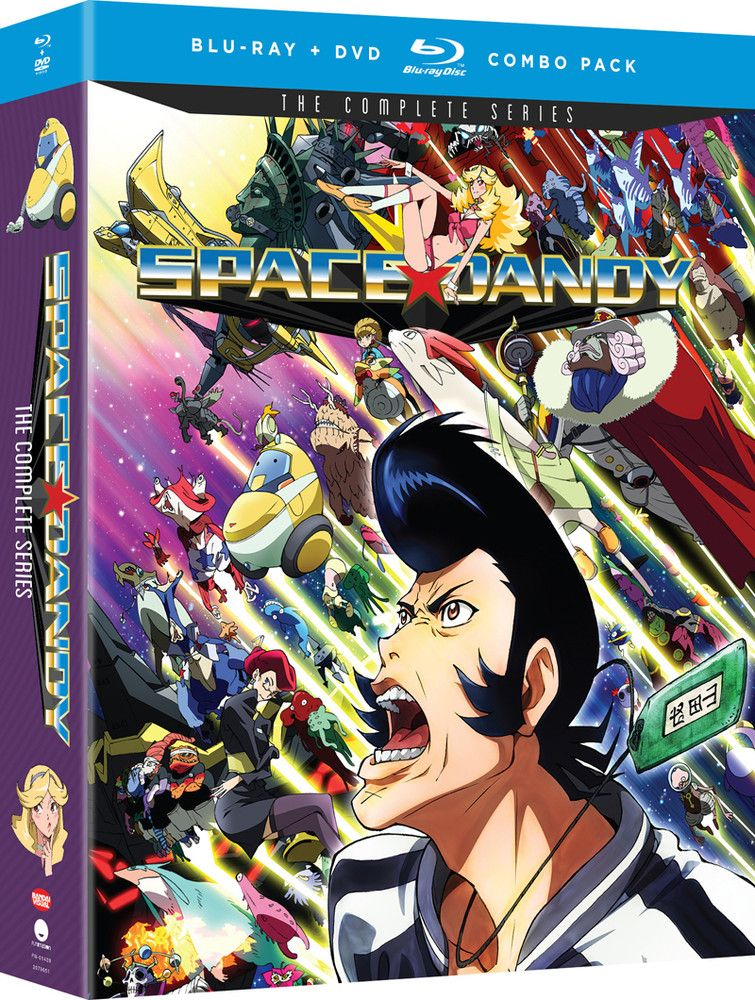 Space Dandy Complete Series BluRay/DVD Space dandy