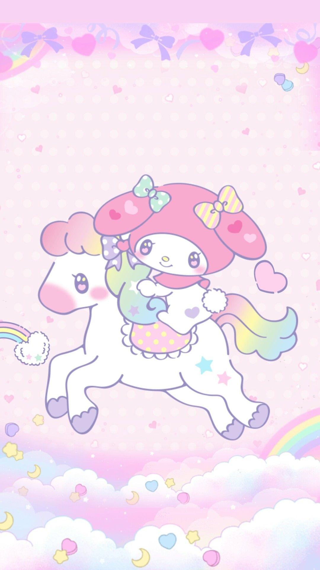 𝙹𝚎𝚗𝚗𝚕𝚘𝚟𝚎♡ — heymi243 My melody unicorn wallpaper by me