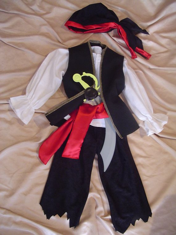 This listing is for a great looking Pirate boy costume The costume - 1 year old halloween costume ideas