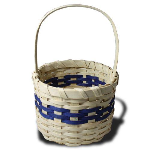 DELS | Beginner Basket Weaving Kits - Round Berry Basket