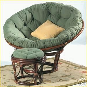 A Danish Bowl Chair. I Sort Of Fancy One Of These/a Papasan Chair For The  Sitting Room (especially As Our Reclining Chair Seems To Belong To The Cat.