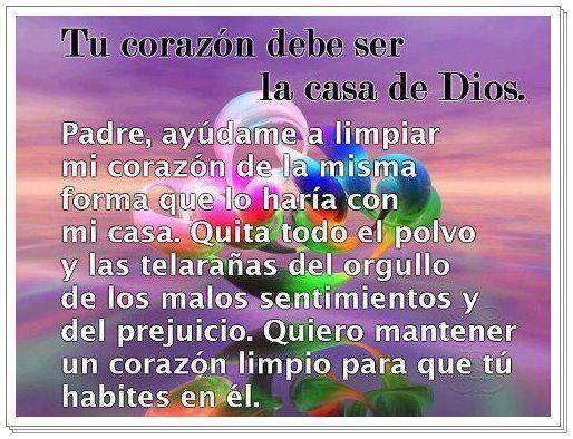 Poemas De Dios Para Reflexionar ORACIONES Y ALABANZAS A DIOS Ideas For The House