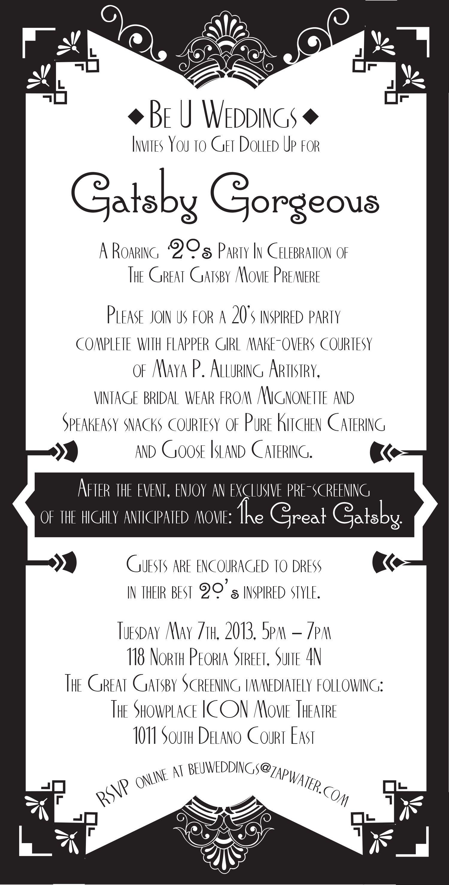 Theme Party Invitations Wording | Invitationswedd.org