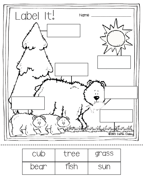 Bears: Math, Literacy, and SO Much More | Camping, Kind und Winter