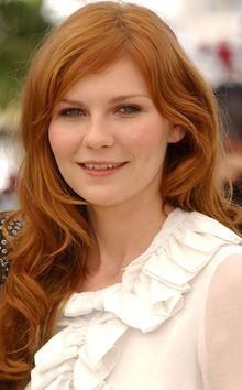 Kirsten Dunst Ginger Hair Redheads Kirsten Dunst