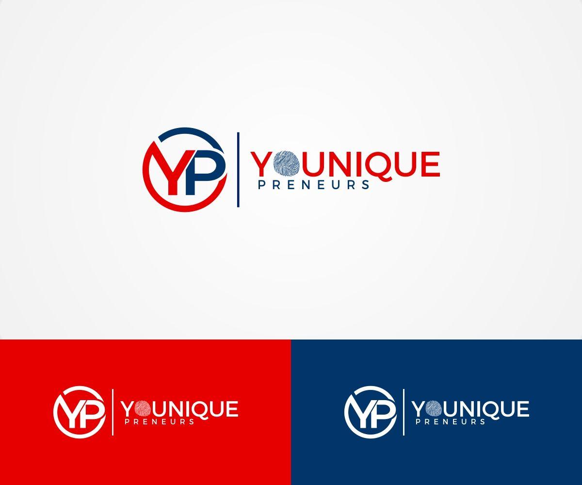 YOUniquePreneurs Logo, Web, Business Card Design Playful, Feminine Logo Design by Liyana