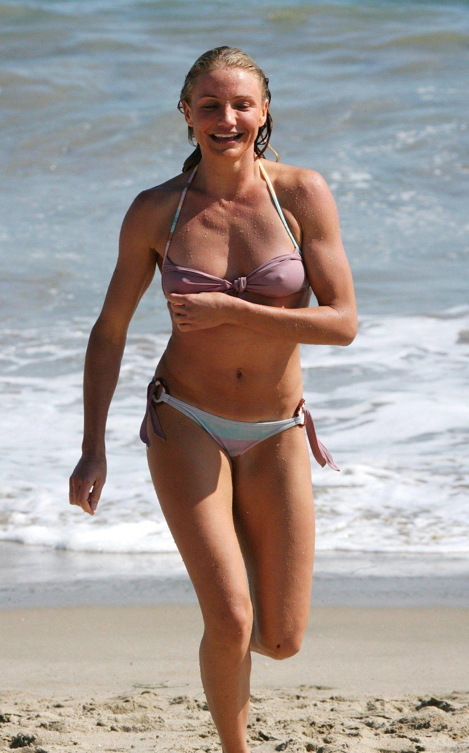 Cameron diaz see through bikini here