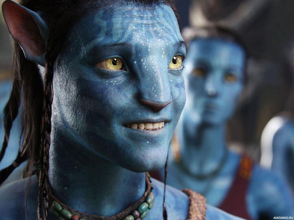 Улыбающийся главный герой фильма Аватар — Фото на аву ...
