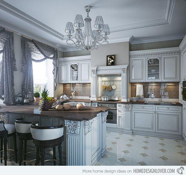 15 Lovely Kitchen Curtain Ideas