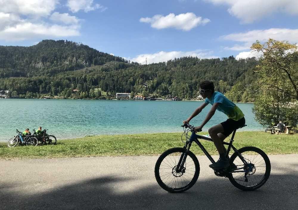 Am Walchensee Radfahren Mit Kindern Urfeld Niedernach Ausflug Walchensee Ausflugsziele