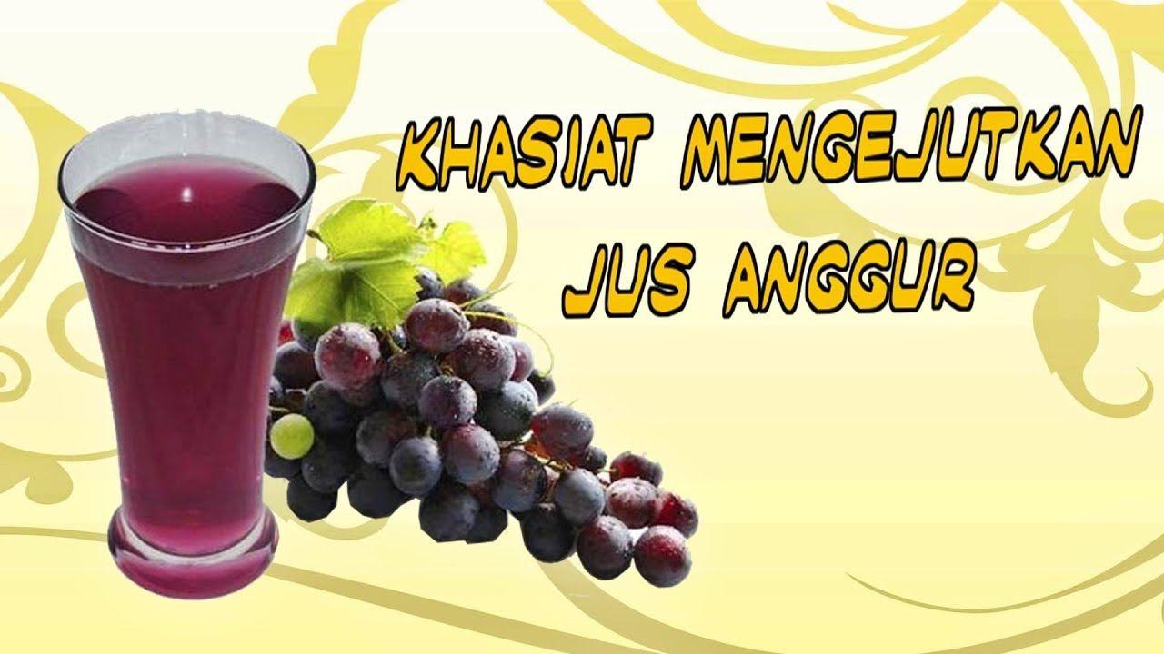 Manfaat Minum Buah Anggur Merah