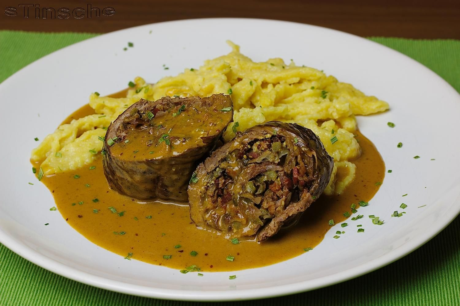 Photo of Beef roulades with boletus filling – recipe