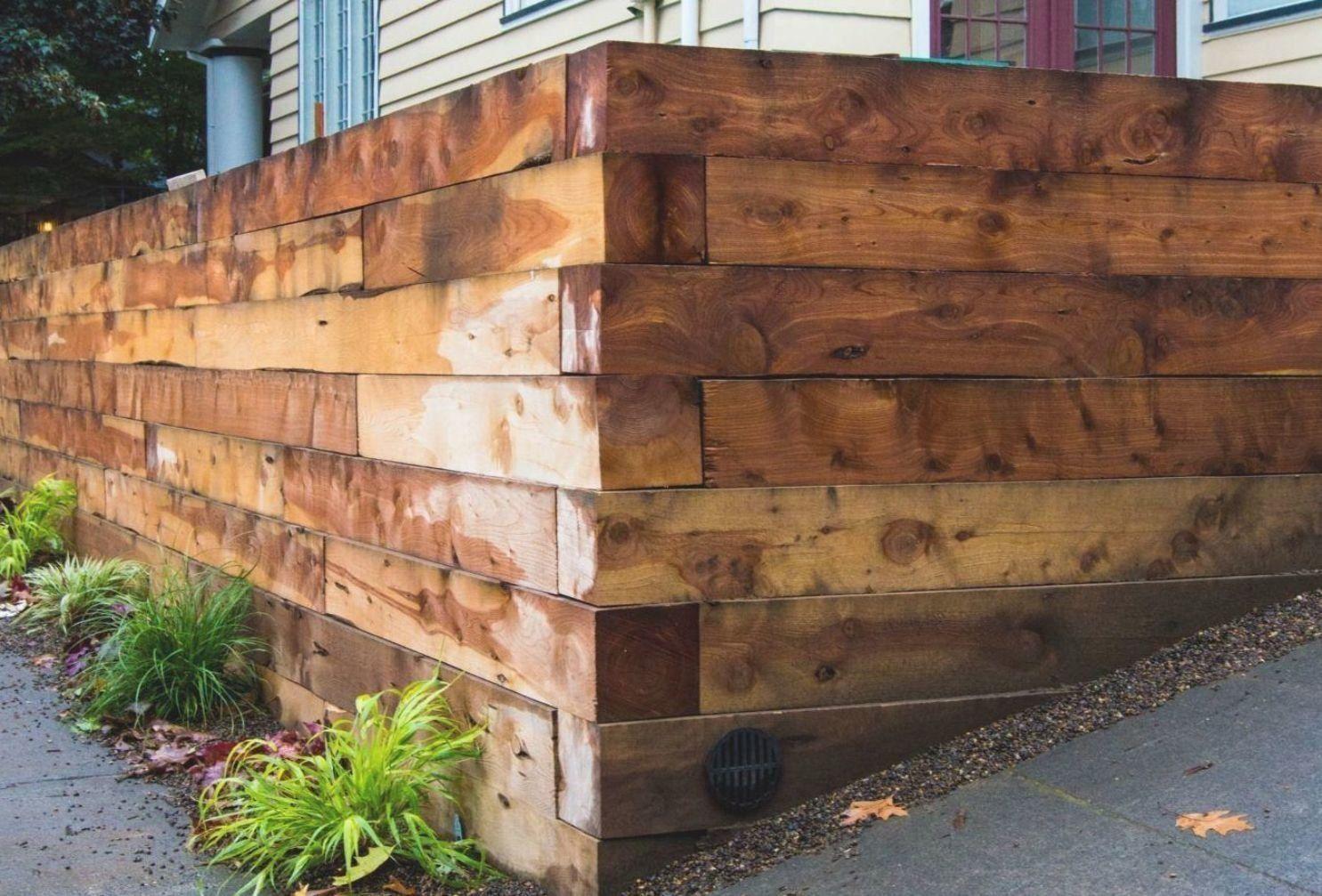 Concrete Retaining Wall Repair Ideas Modern Design 2 In 2020 Concrete Retaining Walls Fence Design Retaining Wall Repair