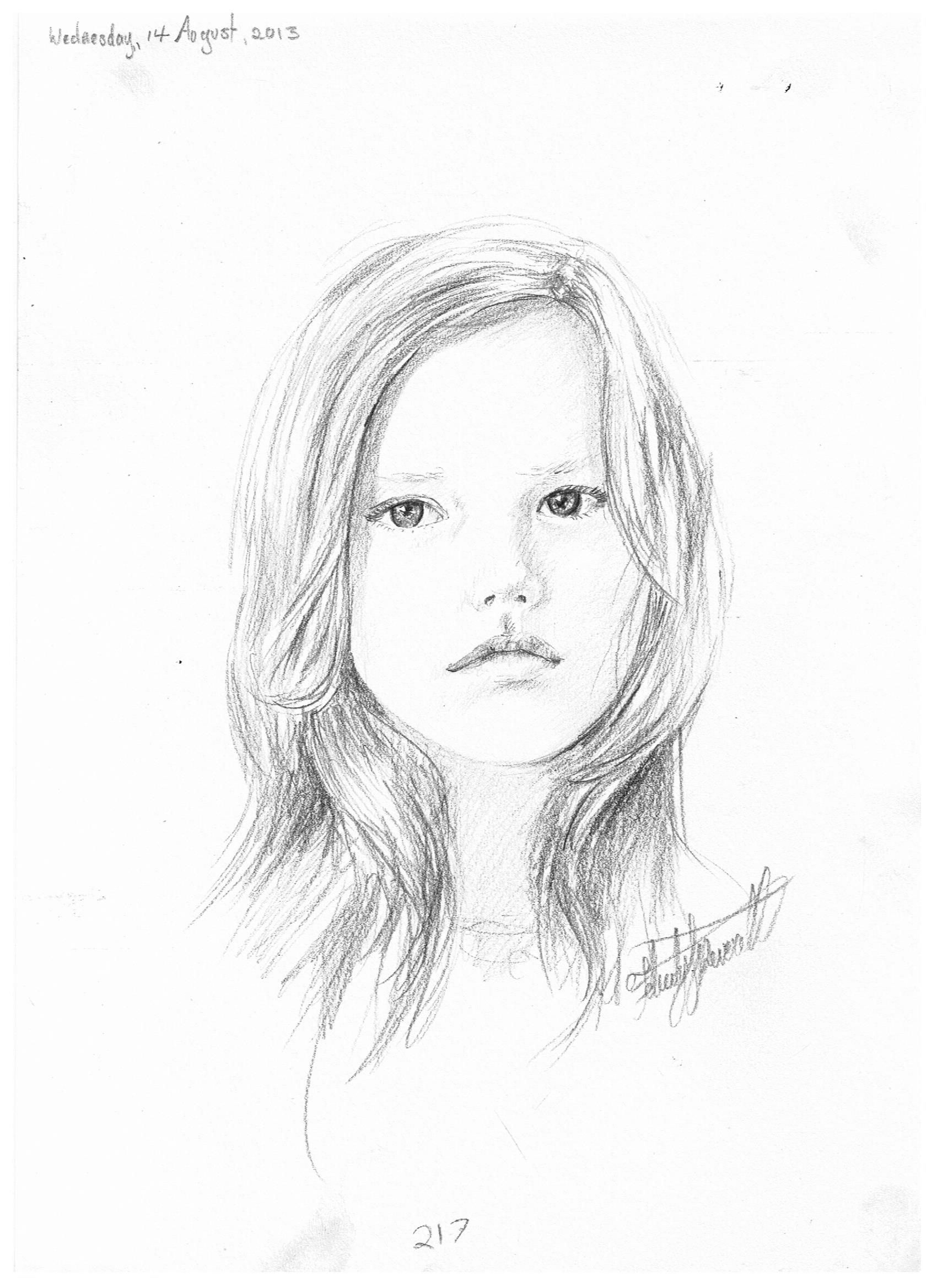 217 Cute Little Girl Drawing | Xzss | Drawings Drawing Sketches Vu00e0 Sketches