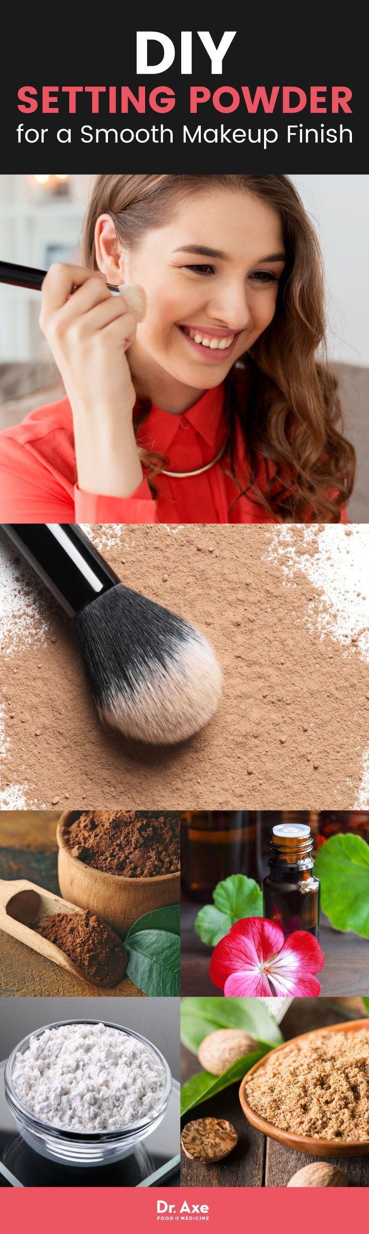 DIY Setting Powder Recipe Diy face powder, Setting